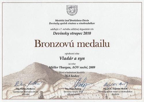vinohrady vladár diplom